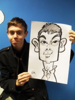 Stoke On Trent Caricaturist Hire..